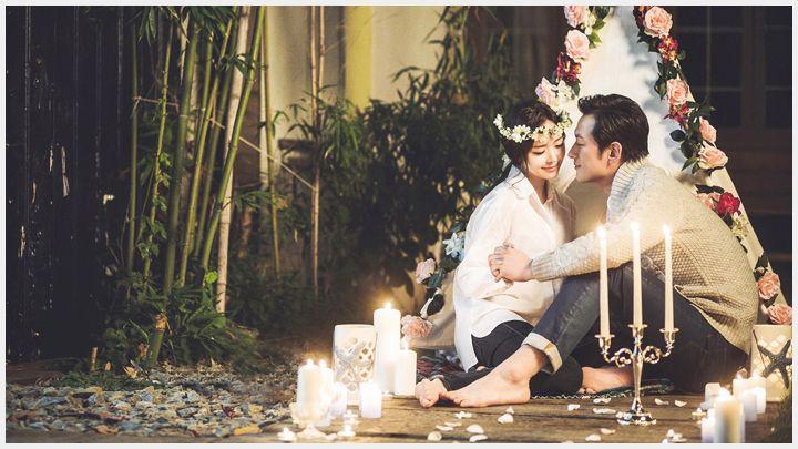 예비부부에게 추천하는 로맨틱 겨울 웨딩 촬영과 나이트 촬영