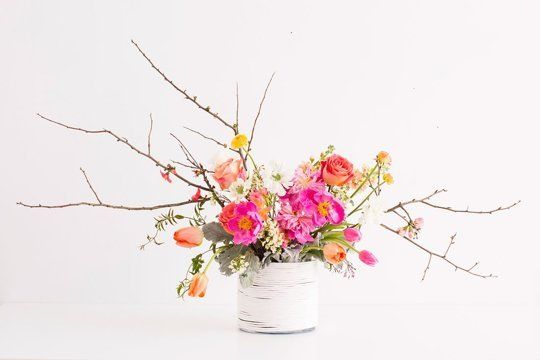 There's a difference between shoving flowers into a vase and crafting an artful arrangement. That difference is mostly three things: Knowledge, ambition and a bit of floral foam. Whether you want to practice your florist skills to craft centerpieces for your DIY wedding or maybe just dress the dining room table, here are 10 helpful links that will help you become a pro.