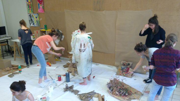 STAGE VACANCES DE LA TOUSSAINT — Préparer une école d'art