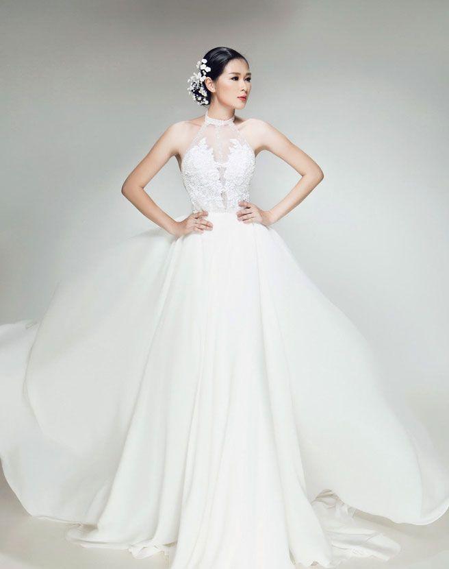 BST Váy Cưới Đẹp Dịu Dàng Gợi Cảm Cho Cô Dâu Của Vĩnh Thuỵ | Thế Giới Tiệc Cưới