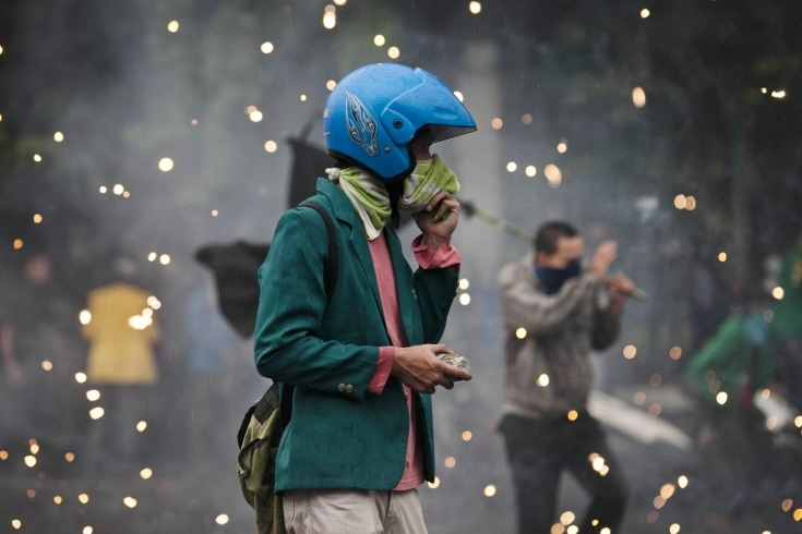 riots in Jakarta