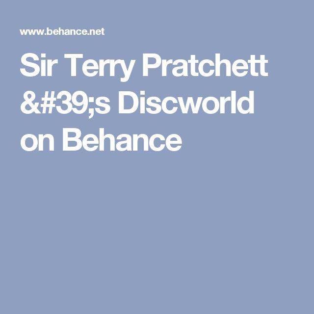 Sir Terry Pratchett 's Discworld on Behance