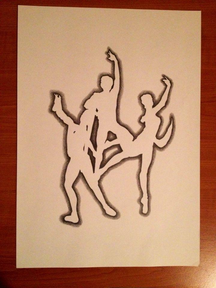Bailarines negativos