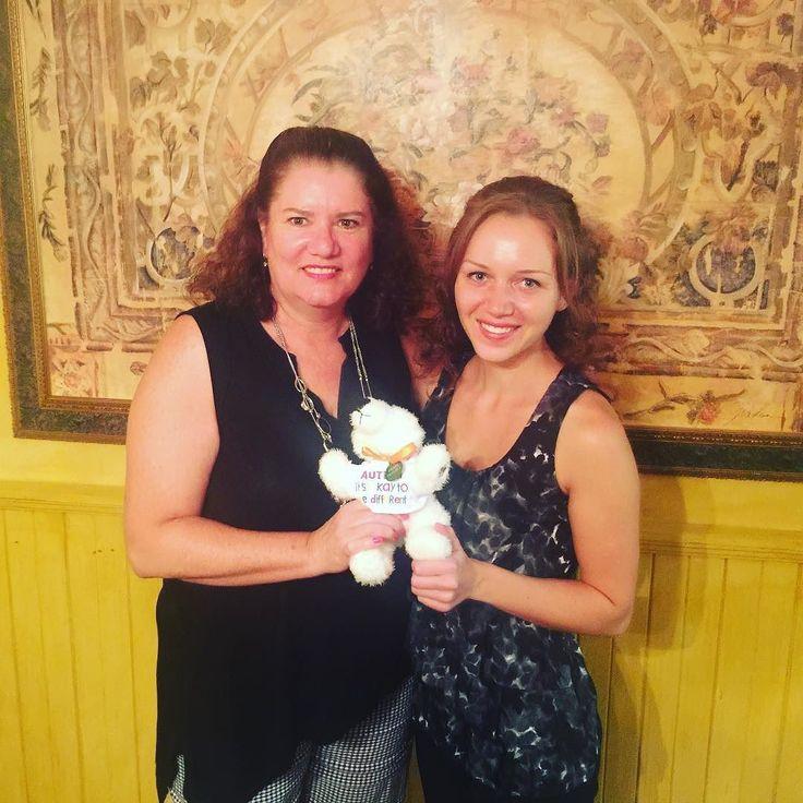 Autism Canada's Executive Director Laurie Mawlam and Ambassador Chantale Pomerleau meet @tikko_travels  the famous polar bear raising autism awareness.