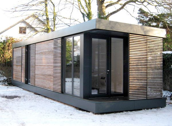 17 best ideas about small modular homes on pinterest for Moderne wohncontainer