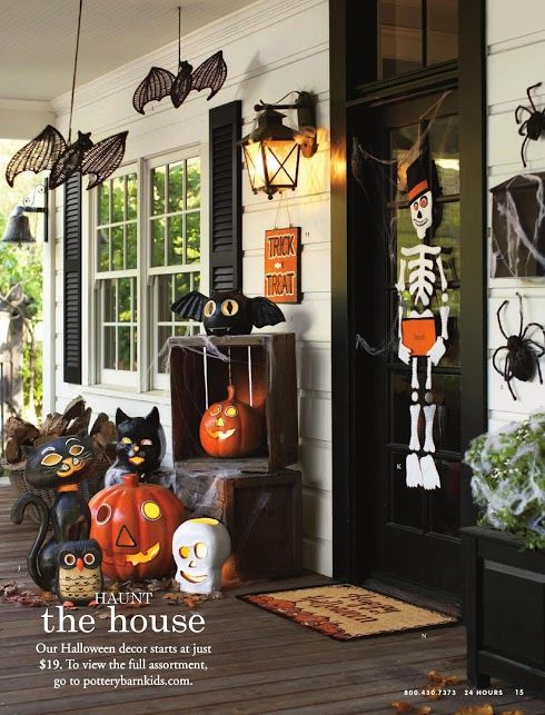 310 best fall halloween outdoor decorating images on pinterest halloween decorations. Black Bedroom Furniture Sets. Home Design Ideas