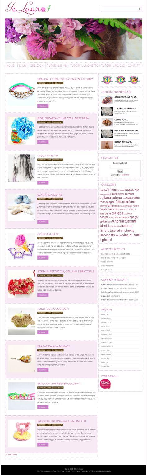 blog personale web design tatoosa.it