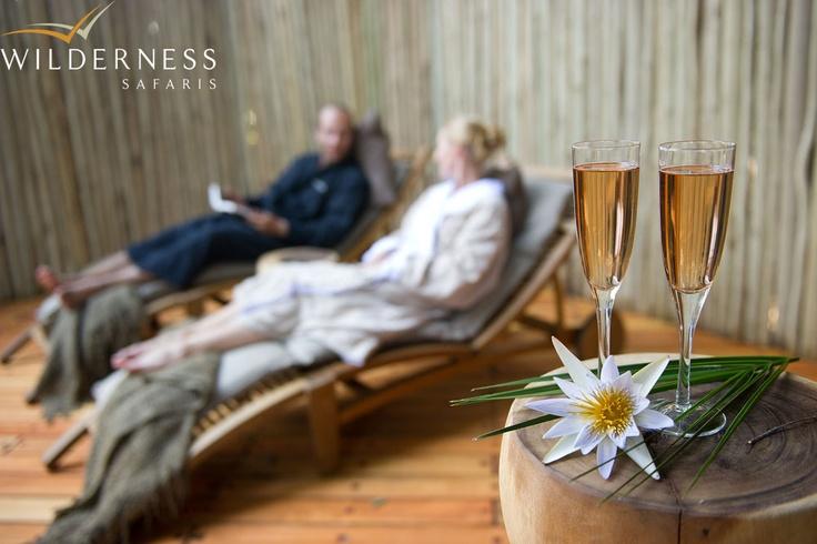Jao Camp focuses on utter luxury and relaxation! #Safari #Africa #Botswana #WildernessSafaris