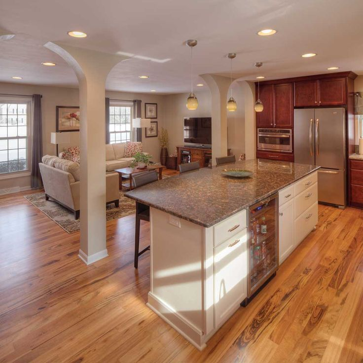 in Muskego, Wisconsin), specified the kitchen cabinets with Roseville