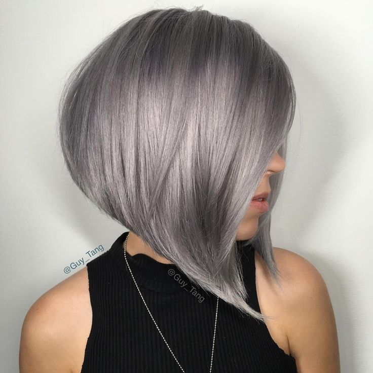 Silver Hair @kenra by Guy Tang