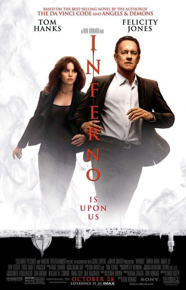 Starring Tom Hanks, Felicity Jones, Ben Foster   Mystery, Thriller
