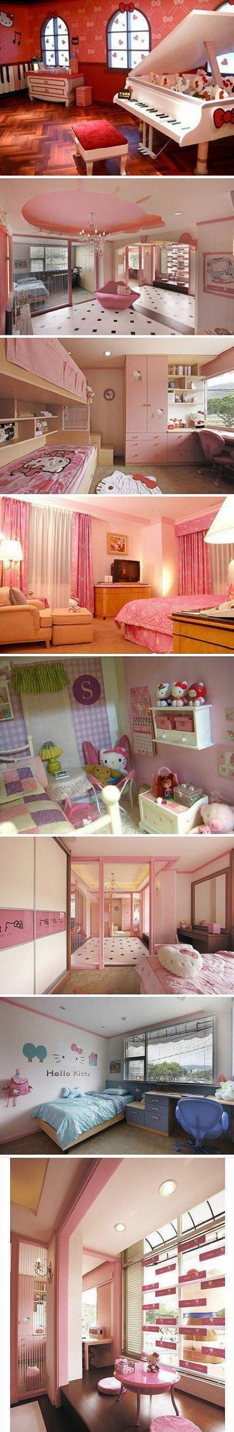 Hello Kitty themed home decor ideas @Judy Hilkert
