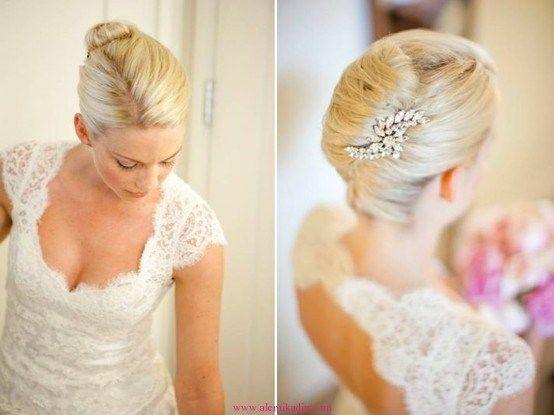 Fransız Topuz Düğün Saçı