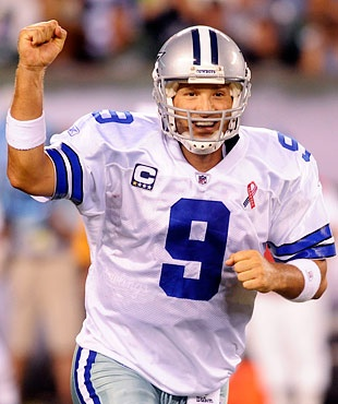 Tony Romo signs $108M contract with Dallas Cowboys - NFL.com I would be happy too.