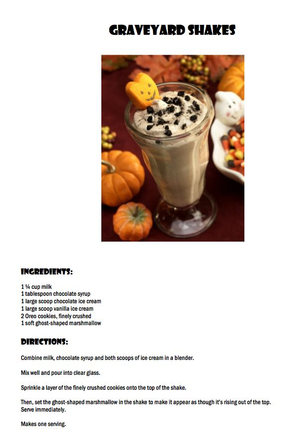 Enjoy This Braces Friendly Recipe Halloween Be Sure To Brush And Floss Your Teeth After Eating Sweet Treats