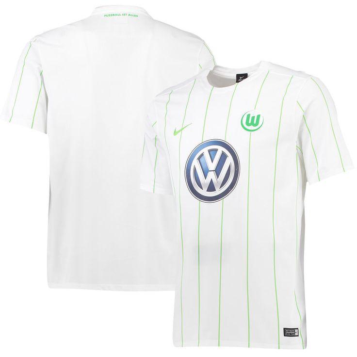 VfL Wolfsburg Nike 2016/17 Away Jersey - White