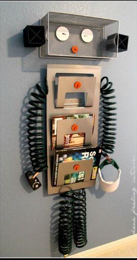 Robot for boys bedroom