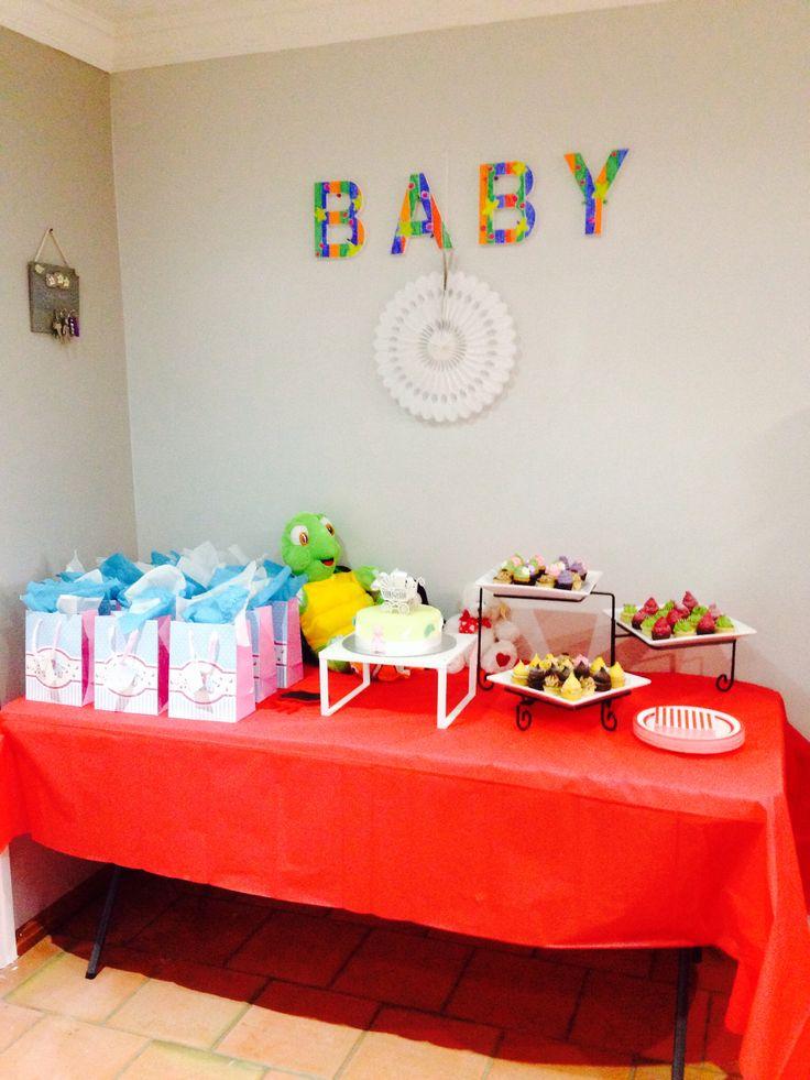 Desert table baby shower
