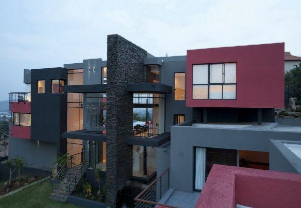 Nico van der Meulen Architects - Five storey dream house in Johannesburg, South Africa #architecture #house