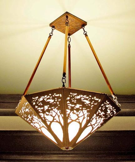 Copper Tree Light Fixture James Mattson Mine Home Pinterest Chandeliers Lights And Craft