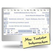 Mac Kurs, Mac Unterricht oder Mac Schulung: Die Kenntnis der Mac-Tastatur mit den Apple Tastenkombinationen ist eine wichtige Arbeitsgrundlage