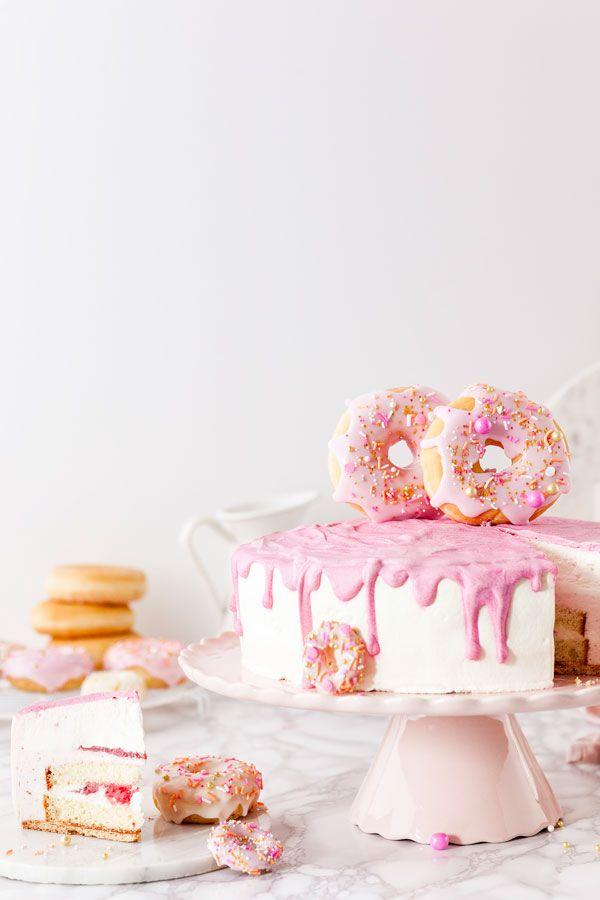 Hochzeitstorte Ganz Ohne Backen Pimp Your Cake Mit Donuts Die