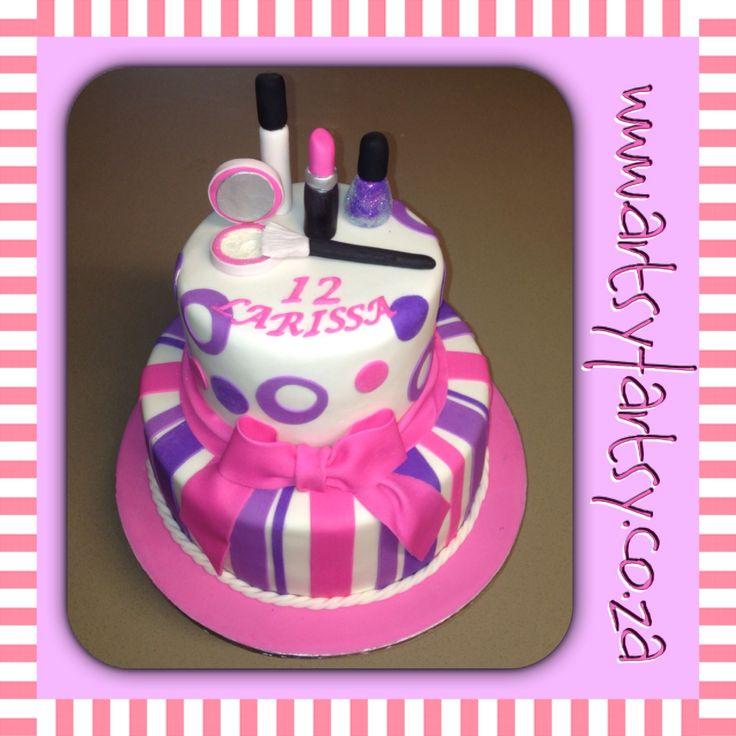 Makeup Cake #makeupcake