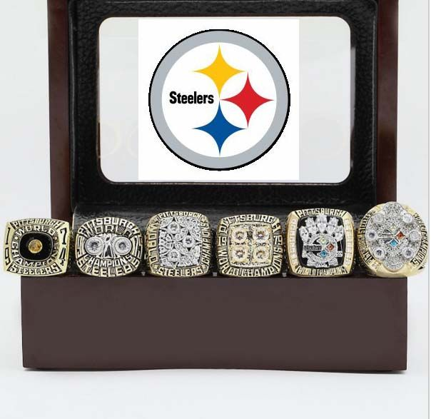 Steelers Super Bowl Replica Ring Set #steelers #football #super bowl #NFL