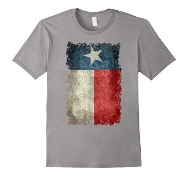 Amazon.com: Texas Vintage Knockout Banner Flag T-Shirt: #texas #texasflag #texanflag #vintagetexasflag by Bruzer