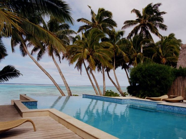 The Little Polynesian, located in Rarotonga on the Cook Islands, has a no-children policy that keeps the tranquility quotient high.