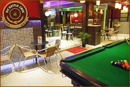 Here's a great offer!! Freshly brewed Italian Cappuccino and half an hour game of Pool at De' Kettle Cafe #Pune- all this is FREE!!! Don't wait to grab it! Just Toboc it: http://www.tobocdeals.com/restaurants/cafes/pune-deal-de-kettle-cafe-pune-1217.aspx#sthash.iJ5WtPQ2.dpuf