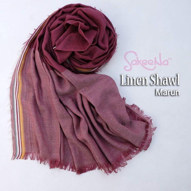 Linen shawl . . Bahan : linen polyester . . Ukuran : 105cm x 205cm . . Harga : 85.000 . . Format order : nama alamat lengkap no.hp kodewarna