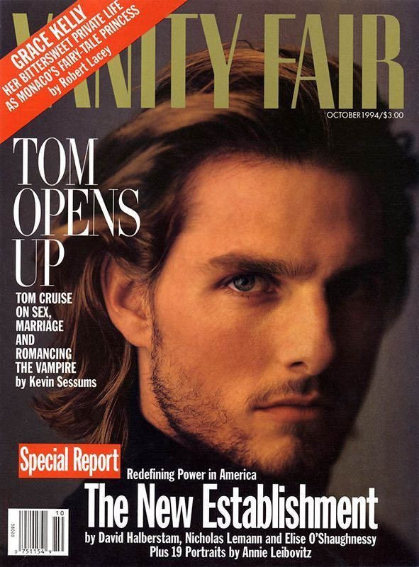 ThrowbackThursday: Tom Cruise shot by Annie Leibovitz for vanityfair ... Tom Cruise