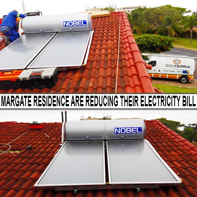More & more #KZNsouthcoast residence are #reducing #electricitybills by choosing #solarsolutions, follow the link to read more.  #SolarPower #geyser #gogreen #HotWater