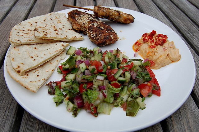 middle eastern lunch copyright Eve Fox 2008 by Eve Fox, via Flickr