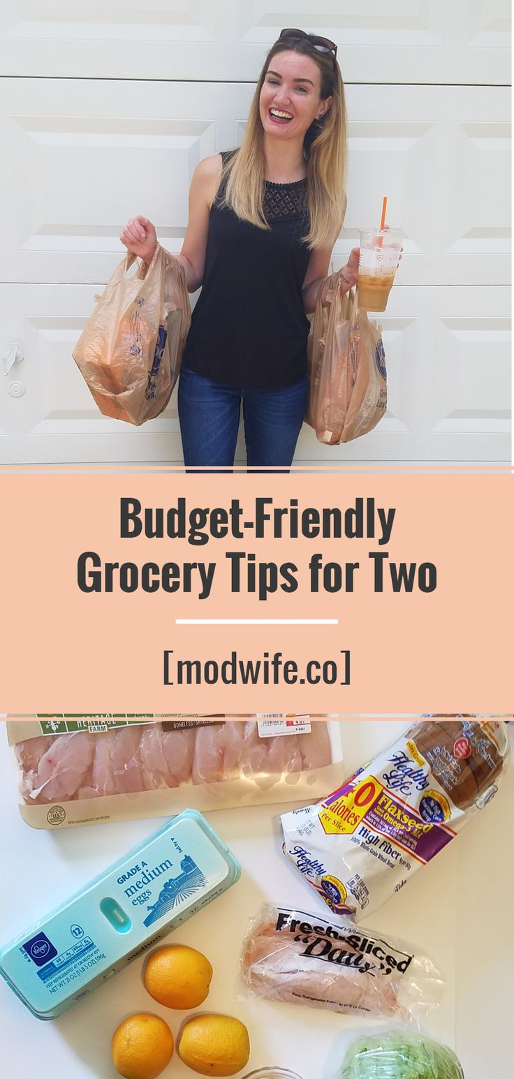 Grocery shopping for two: how to buy fresh, healthy items and stay within budget.