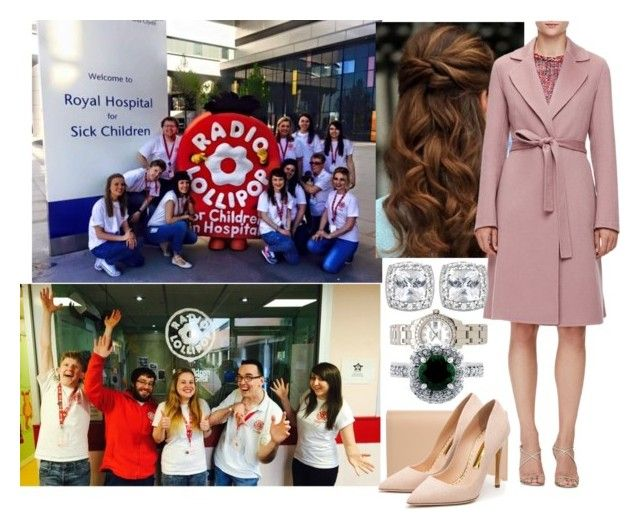 """""""Going to the Royal Hospital for Sick Children and meeting with a team from Radio Lollipop"""" by amelia-of-scotland ❤ liked on Polyvore featuring ESCADA, Rolex, BERRICLE, Yves Saint Laurent and Rupert Sanderson"""