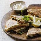 Een heerlijk recept: Quesadillas met zoete aardappel spinazie en geitenkaas