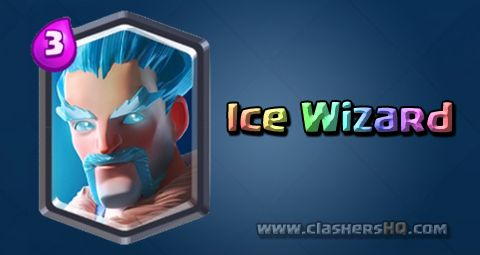 Find out all about the Clash Royale Ice Wizard Card. How to get Ice Wizard & attack/counter Ice Wizard effectively.