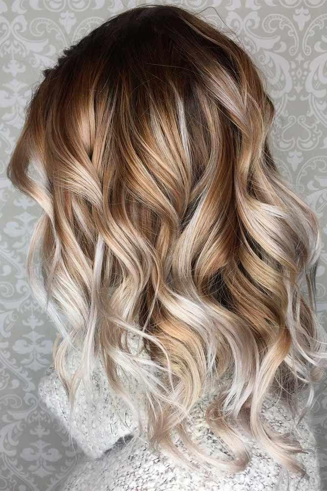 25 best ideas about Wavy hairstyles on Pinterest  Medium wavy