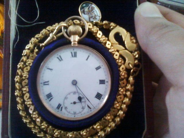 Antique Pocket watch of 1850...made by Maharan Fateh Singh Ji Udaipur