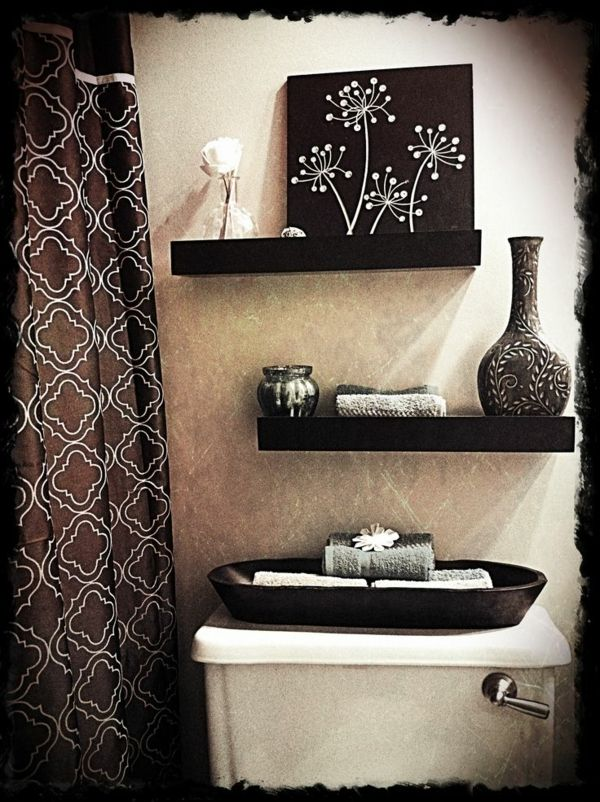 Bathroom decoration ideas in Maritim look to make yourself   – Badezimmer
