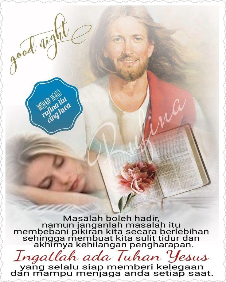 ✿*´¨)*With My Heart  ¸.•*¸.• ✿´¨).• ✿¨) (¸.•´*(¸.•´*(.✿ GOOD NIGHT....GBU ~  Matius 11:28 Marilah kepada-Ku, semua yang letih lesu dan berbeban berat, Aku akan memberi kelegaan kepadamu.