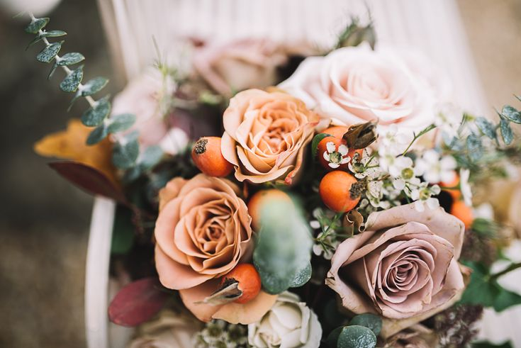 An Ashford, Kent Wedding. I absolutely love the autumn floral details added to the day. I love photographing Autumn Weddings - the landscapes are beautiful. See the full blog: https://www.luciewatsonphotography.com/essexweddingphotographer/weddingsblog/2017/10/8/jess-lukes-autumn-inspired-wedding-ashford