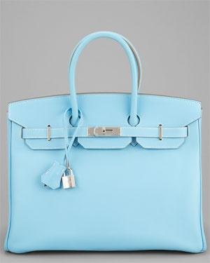 Hermes Candy Celeste Epsom Leather Birkin 35cm PHW I'm in love!!!