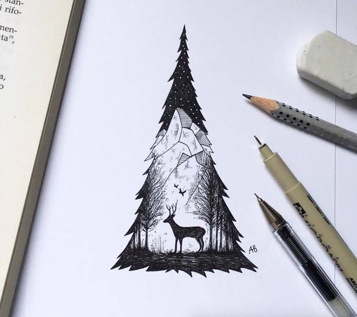 Poetic Surreal Black Ink Pen Illustrations – Fubiz Media