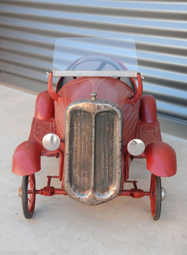 Vintage Antique Industrial Classic Sports Pedal Car Citroen 1930 s