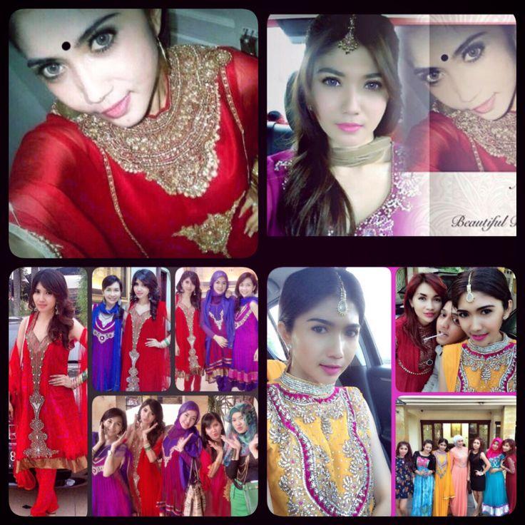 Hindi fashion on my ied...