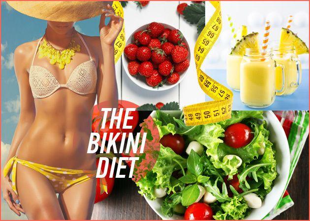 ΔΙΑΙΤΑ ΓΙΑ ΜΠΙΚΙΝΙ: Χάσε έως και 8 κιλά σε 1 μήνα