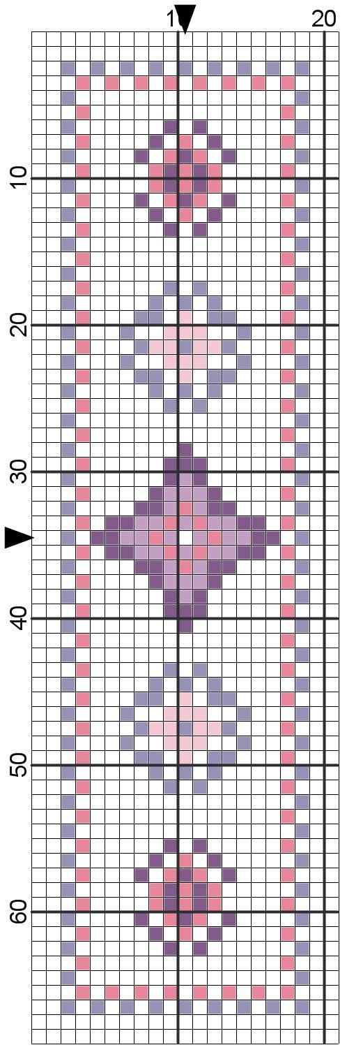 The world according to Ági: Two cross stitch bookmark patterns